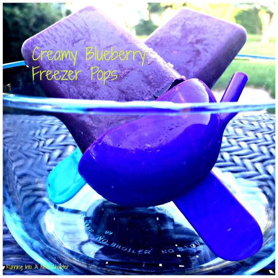 Blue Berry Freezer Pops